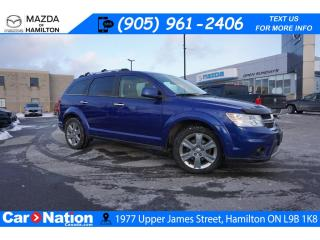 Used 2012 Dodge Journey R/T | AS-TRADED | LEATHER | ROOF | NAV | 7 SEATS for sale in Hamilton, ON