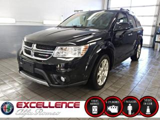 Used 2017 Dodge Journey GT AWD*7 PLACES/CUIR/3ZONES* for sale in Laval, QC