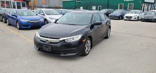 Used 2016 Honda Civic Sedan 4dr CVT LX for sale in Burlington, ON
