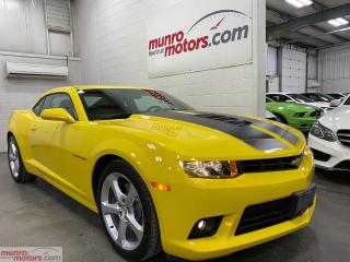 Used 2014 Chevrolet Camaro 2dr Cpe 2SS leather HUD 8