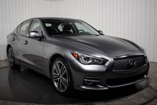 Used 2015 Infiniti Q50 LIMITED AWD CUIR TOIT MAGS NAV for sale in St-Hubert, QC