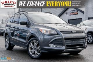 Used 2015 Ford Escape SE / BACKUP CAM / HEATED SEATS / NAVIGATION for sale in Hamilton, ON