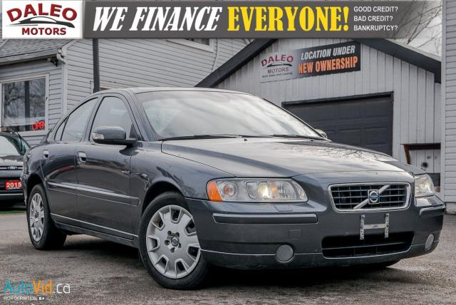 2009 Volvo S60 2.5T AWD / LEATHER / SUNROOF / HEATED SEATS