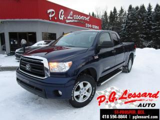 Used 2012 Toyota Tundra Sr5 v8 5.7l 4x4 381 h/p toile bluetooth for sale in St-Prosper, QC