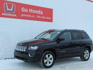 Used 2017 Jeep Compass HIGH ALTITUDE, 4WD, LEATHER, ROOF for sale in Edmonton, AB