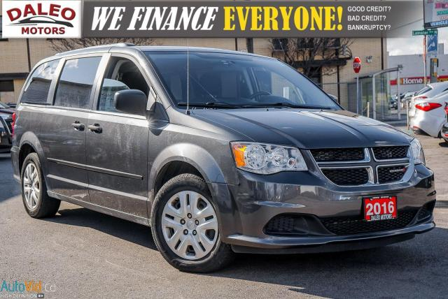 2016 Dodge Grand Caravan SXT / 7 PASSENGER / STOW AND GO