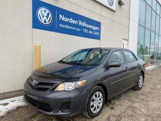 Used 2012 Toyota Corolla CE M/T - PWR PKG for sale in Edmonton, AB