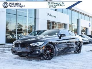 Used 2014 BMW 4 Series 428i xDrive MSPORT PACKAGE! RED INT! for sale in Pickering, ON