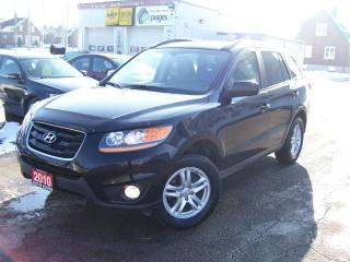 Used 2010 Hyundai Santa Fe GL,AWD,CERTIFIED,NO ACCIDENT,BLUETOOTH,FOG LIGHTS for sale in Kitchener, ON