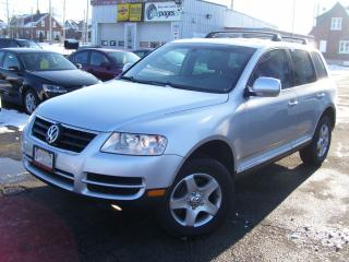 Used 2004 Volkswagen Touareg AWD,CERTIFIED,NO ACCIDENT,LOW KM'S,FULLY LOADED for sale in Kitchener, ON