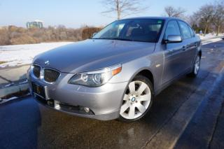Used 2007 BMW 5 Series 530XI / NO ACCIDENTS / LOW KM'S / EXECUTIVE PACKAG for sale in Etobicoke, ON