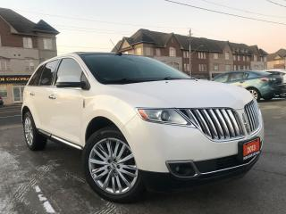 Used 2013 Lincoln MKX AWD|Navi|DVD|Leather|sunroof|Blind spot|Camera for sale in Burlington, ON