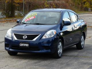 Used 2012 Nissan Versa LOW KMS,POWER OPTIONS,AIR-CONDITIONING,REDUCED for sale in Mississauga, ON