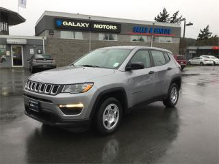 Used 2018 Jeep Compass - Heated Mirrors Bluetooth Auto Stop Start SPORT for sale in Victoria, BC