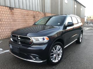 Used 2016 Dodge Durango LIMITED-AWD-CAMERA-SUNROOF-20