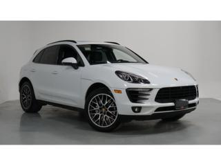 Used 2017 Porsche Macan S   1-OWNER   NAVI   BACKUP CAM   20 INCH WHLS for sale in Vaughan, ON