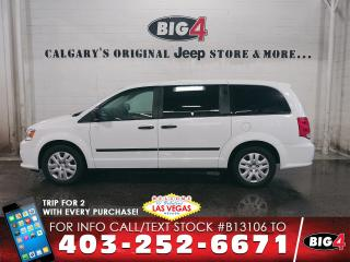 Used 2017 Dodge Grand Caravan CVP/SXT | Stow 'n Go | Remote Keyless Entry for sale in Calgary, AB