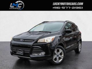 Used 2016 Ford Escape SE-PANOROOF-NAV-BACKUP CAM-HEATED SEATS-70KMS for sale in Toronto, ON