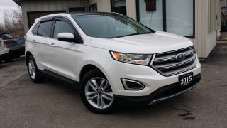 Used 2015 Ford Edge SEL AWD -LEATHER! NAV! BACK-UP CAM! PANO ROOF! for sale in Kitchener, ON