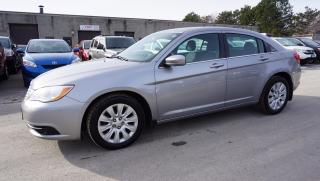 Used 2013 Chrysler 200 LX AUTO CERTIFIED 2YR WARRANTY *1 OWNER*SERVICE RECORD* BLUETOOTH CRUISE AUX for sale in Milton, ON