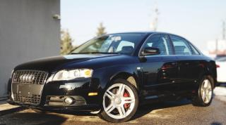 Used 2008 Audi A4 2.0T QUATTRO LEATHER | ALLOYS | HEATED SEATS|SUNROOF| for sale in Mississauga, ON