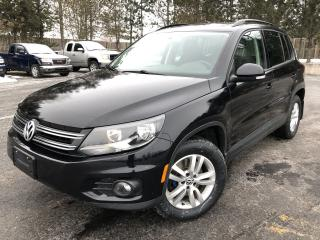 Used 2014 Volkswagen Tiguan COMFORTLINE AWD for sale in Cayuga, ON