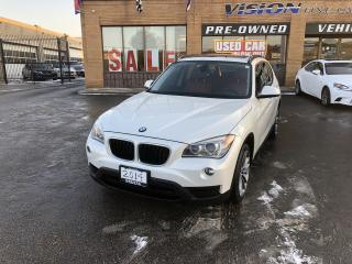 Used 2014 BMW X1 AWD 4dr xDrive28i-CLEAN CARFAX-SPORT PCKG for sale in North York, ON