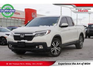 Used 2017 Honda Ridgeline 4WD CREW CAB EX-L for sale in Whitby, ON