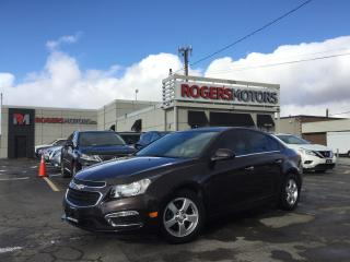 Used 2015 Chevrolet Cruze - 2.99% Finance   6 Months Deferral - 2LT - SUNROOF - LEATHER - REVERSE CAM for sale in Oakville, ON