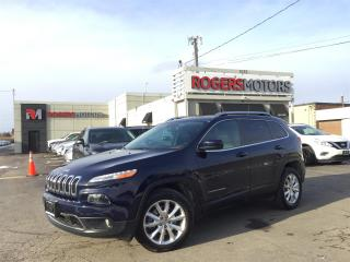 Used 2016 Jeep Cherokee LTD 4X4 - NAVI - PANO ROOF - LEATHER for sale in Oakville, ON