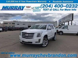 New 2020 Cadillac Escalade Premium Luxury for sale in Brandon, MB