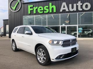 Used 2018 Dodge Durango Citadel AWD, Loaded and One Owner for sale in Ingersoll, ON