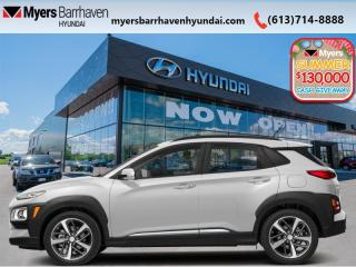 New 2020 Hyundai KONA 1.6T Ultimate AWD  - Navigation - $210 B/W for sale in Nepean, ON