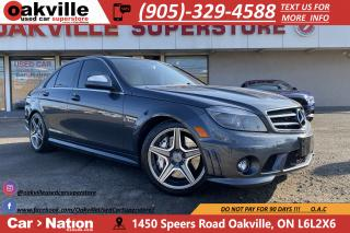 Used 2009 Mercedes-Benz C-Class C63 AMG | LEATHER | SUNROOF | 451HP | 443LB-FT TQ for sale in Oakville, ON