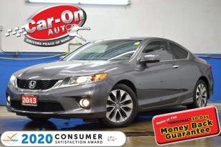 Used 2013 Honda Accord EX-L-NAVI LEATHER SUNROOF REAR CAM LOADED for sale in Ottawa, ON