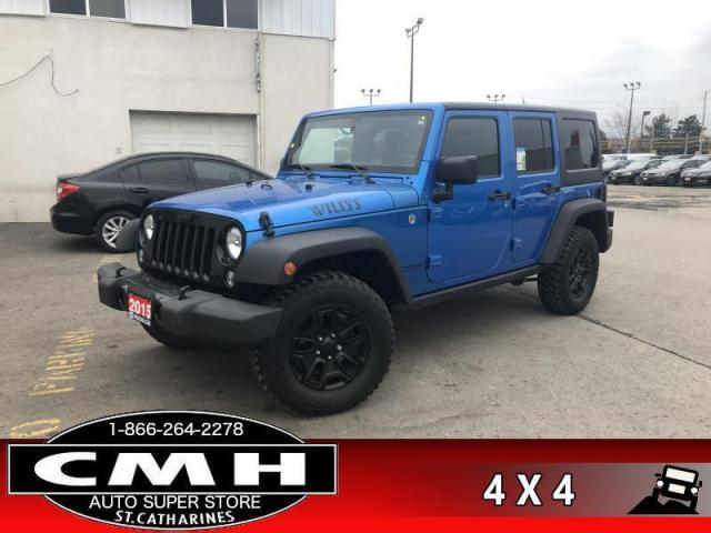 2015 Jeep Wrangler Unlimited Sport  WILLEYS AWD AC TOW