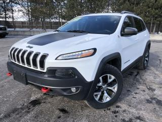 Used 2016 Jeep Cherokee Trailhawk 4WD for sale in Cayuga, ON