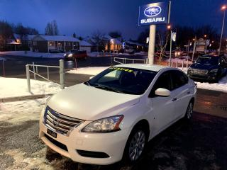 Used 2014 Nissan Sentra S A/C PNEUS HIVER AUTOMATIQUE for sale in Repentigny, QC