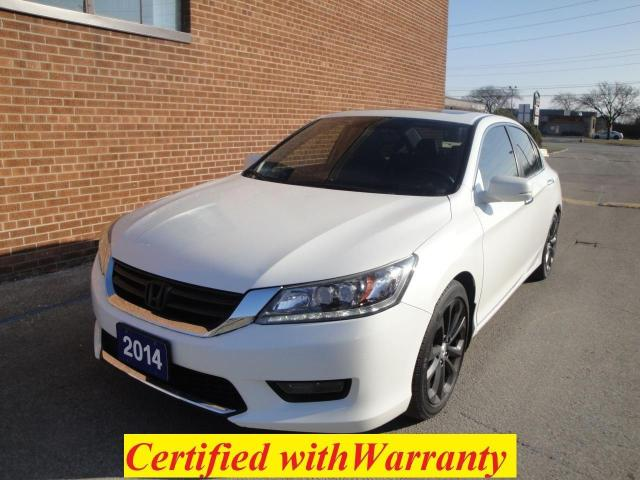 2014 Honda Accord TOURING/NAVIGATION/CAMERA/NO ACCIDENTS