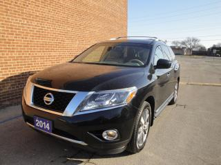 Used 2014 Nissan Pathfinder Platinum, NO ACCIDENT for sale in Oakville, ON