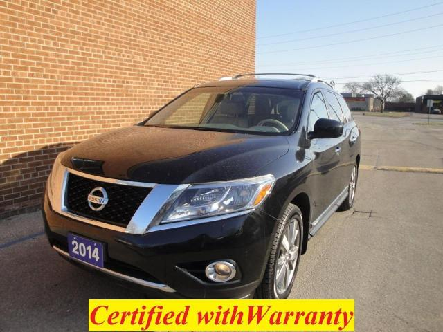 2014 Nissan Pathfinder Platinum, NO ACCIDENT