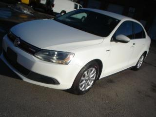 Used 2013 Volkswagen Jetta HYBID,ATUO,LEATHER for sale in Mississauga, ON