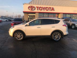 Used 2016 Toyota RAV4 LIMITED AWD HEATED SEATS REVERSE PARKING CAMERA for sale in Cambridge, ON