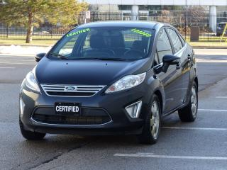 Used 2011 Ford Fiesta LEATHER,SEL,NO-ACCIDENTS,HEATD-PWR SEATS,LOADED for sale in Mississauga, ON