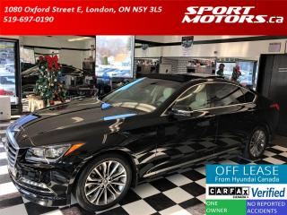Used 2015 Hyundai Genesis Technology+Xenons+Cooled Seats+GPS+Roof+Adaptive C for sale in London, ON