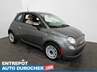 Used 2013 Fiat 500 Pop Groupe Électrique - ÉCONOMIQUE for sale in Laval, QC