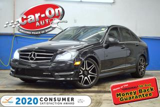 Used 2014 Mercedes-Benz C-Class C350 4MATIC Sport Pkg LEATHER NAV PANO ROOF REAR C for sale in Ottawa, ON