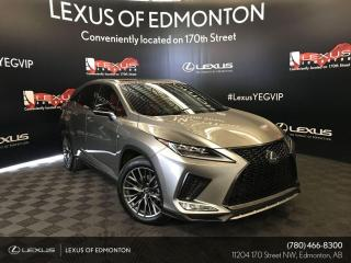 Used 2020 Lexus RX 350 F Sport SERIES 2 for sale in Edmonton, AB