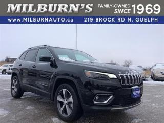 Used 2019 Jeep Cherokee Limited 4X4 for sale in Guelph, ON