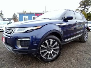 Used 2016 Land Rover Evoque HSE | Navi | Lane departure | Camera | Pano Roof | Certified for sale in Guelph, ON
